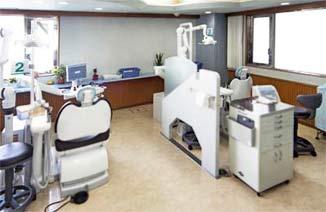 歯医者処置室