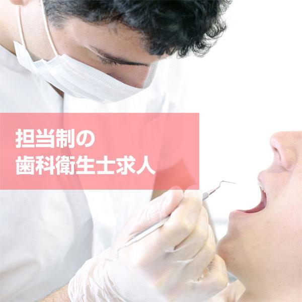 担当制の歯科衛生士求人